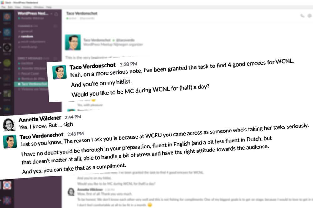 Anfrage nach einem WordCamp Europe